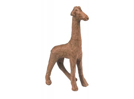 Decoupage-tvar k dekoraci-žirafa-19x7x28cm