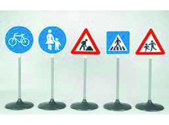 Dopravní značky sada-chodci