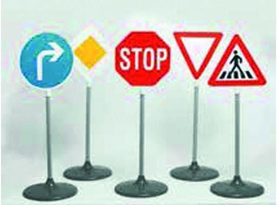 Dopravní značky sada-auta