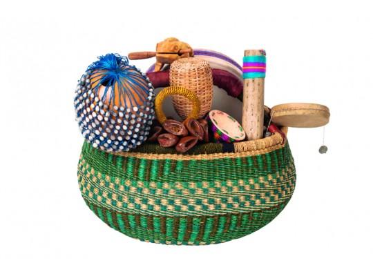 Nástroje hudební-Afrika