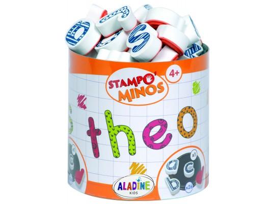 Razítko Stampo abeceda malá