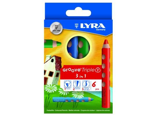 Pastelky Lyra Groove maxi (6)