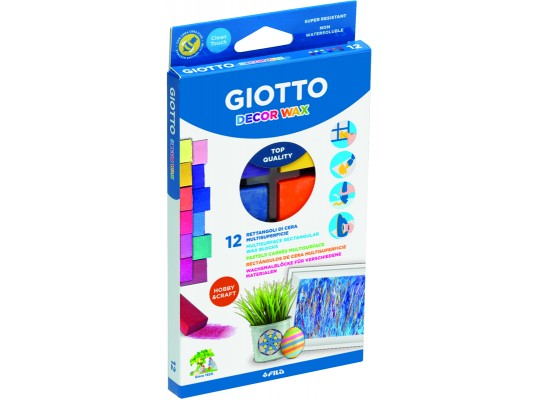 Bločky voskové Giotto