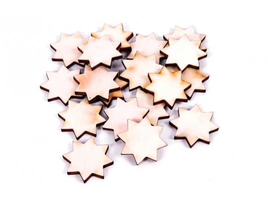 Hvězdičky dřevěné