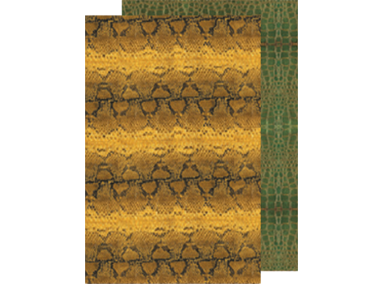Fotokarton-had/krokodýl