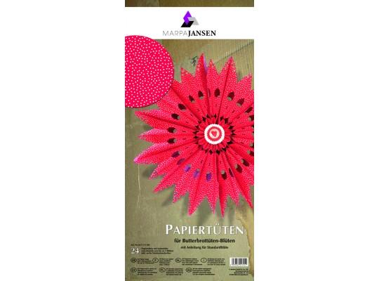 Sáček papírový-červený