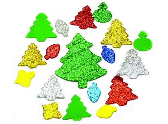 Pěnovka moosgummi samolepicí-Vánoce