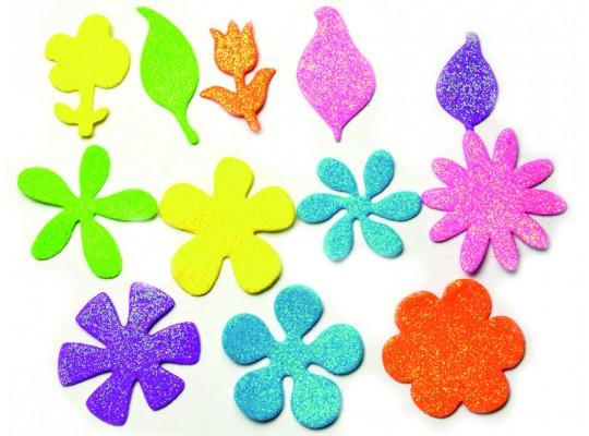 Pěnovka moosgummi-květiny