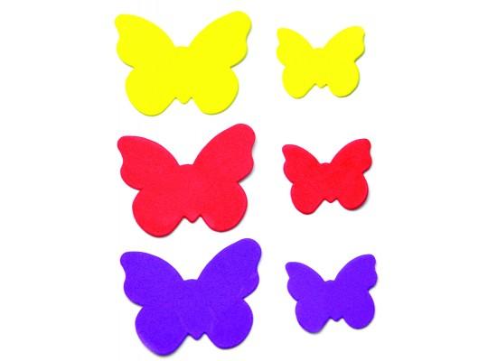 Pěnovka moosgummi samolepicí-motýli