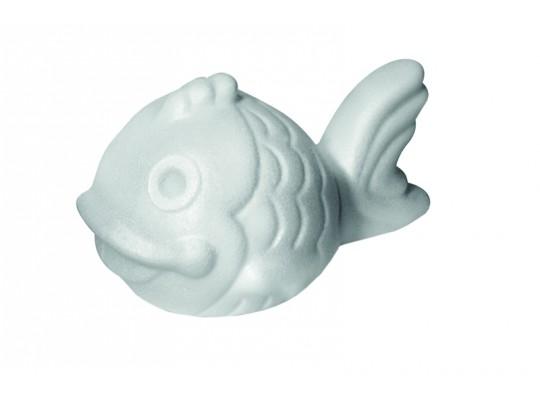 Polystyrenové zvířátko-ryba