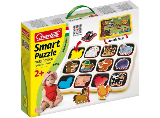 Puzzle Smart Farm-Quercetti