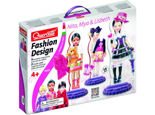 Fashion design Nita, Mya& Lisbeth Quercetti