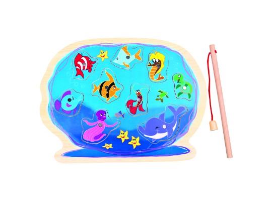 Puzzle-akvárium magnetické