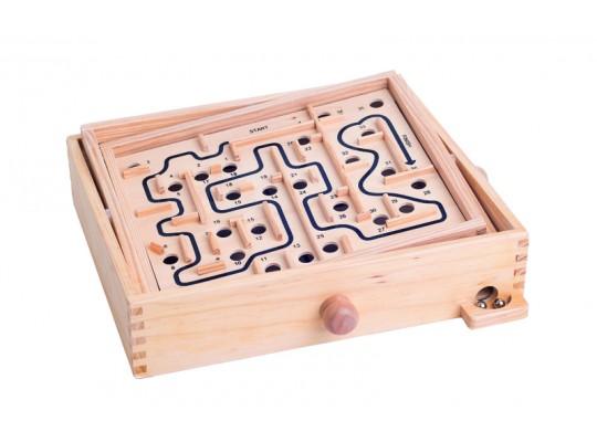 Labyrint s naklápěcími rovinami