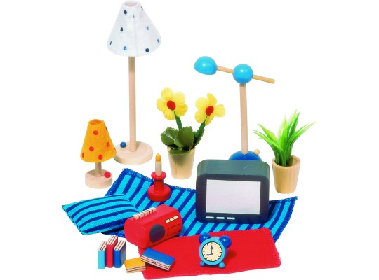 Domeček doplňky-obývák/ložnice