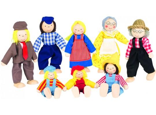 Domeček panenky-rodina