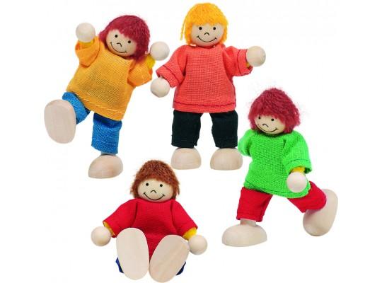 Domeček doplňky-panenky děti