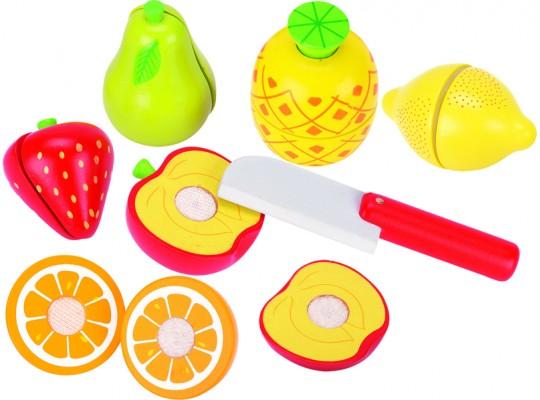 Ovoce a zelenina na suchý zip/krájení-ovoce