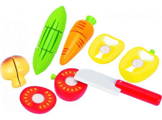 Ovoce a zelenina na suchý zip/krájení-zelenina