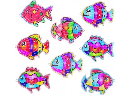 Hra kuličková-rybička
