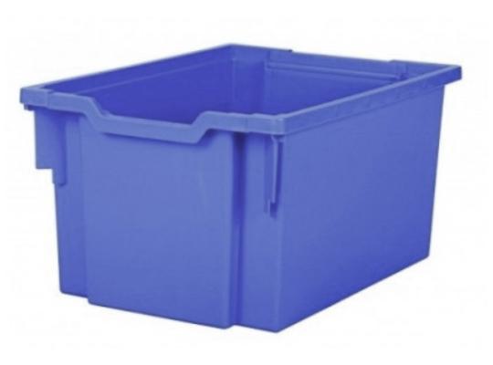 Box plastový 40 l-modrý