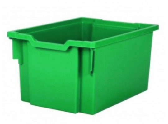 Box plastový vysoký-zelený