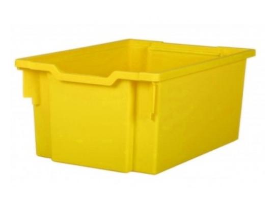 Box plastový M-žlutý