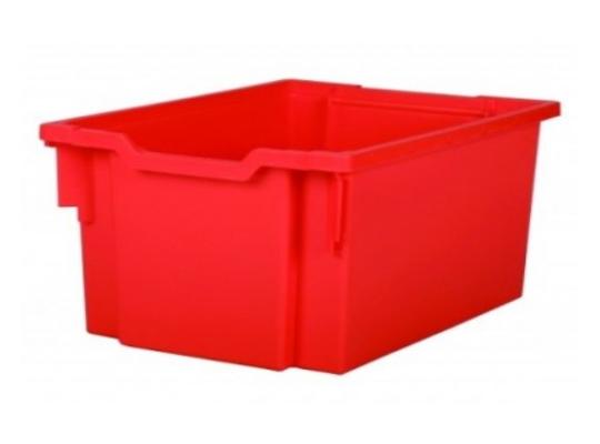 Box plastový 20 l-červený