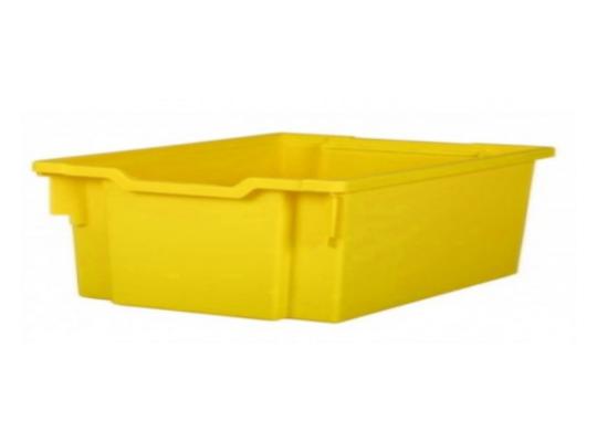 Box plastový 10 l-žlutý