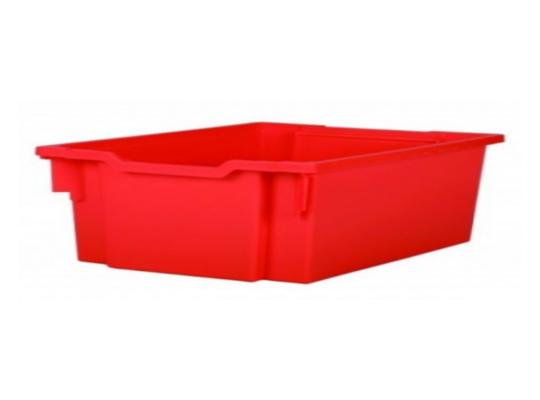 Box plastový 10 l-červený