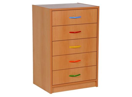 Skříňka spodní úzká-zásuvky dýha buk