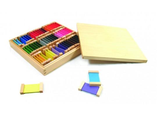 Destičky barevné-Montessori