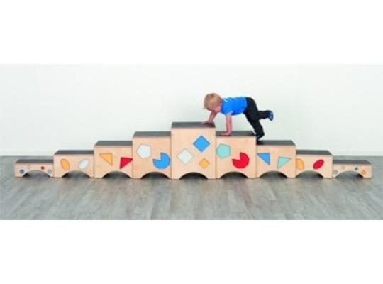 Stupínky gymnastické-dřevěné