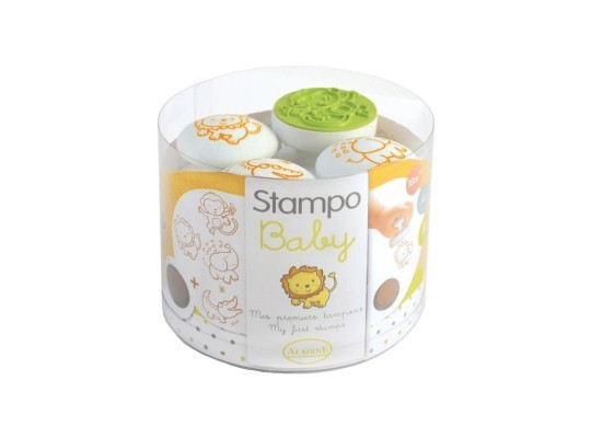 Razítka Stampo pro nejmenší-safari