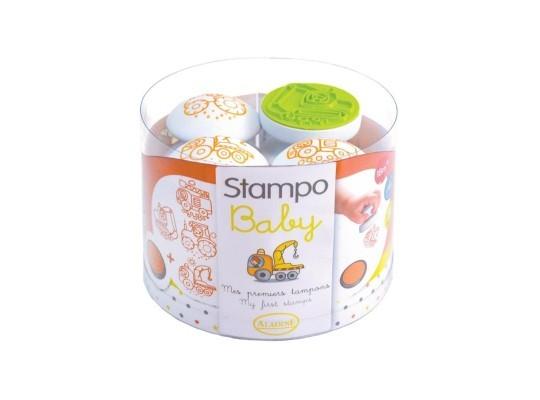 Razítka Stampo pro nejmenší-stavba