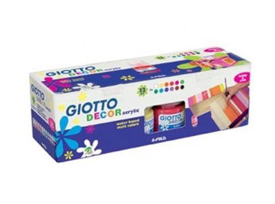 Barvy akrylové Giotto