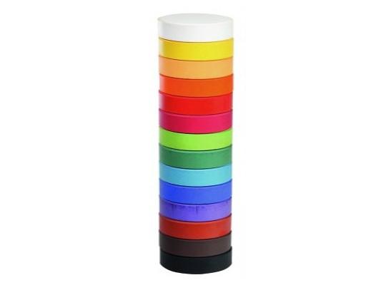 Barva vodová-tableta-hnědá