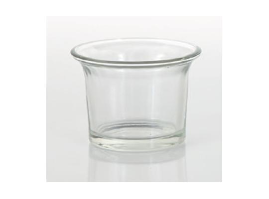 Svícen skleněný-na čajovou svíčku