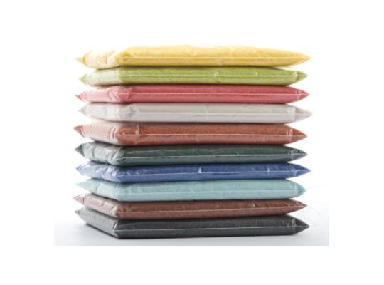 Písek do pískovničky barevný-sada