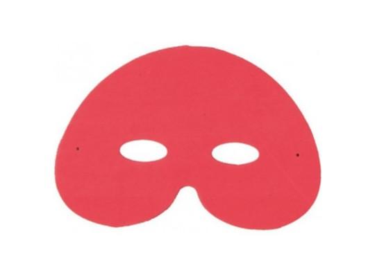 Pěnovka moosgummi maska červená