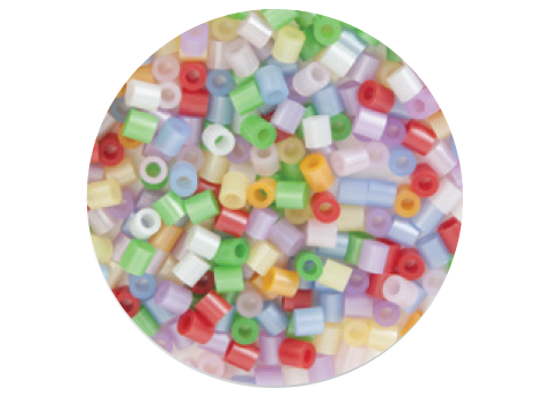 Zažehlovací midi korálky perleťové
