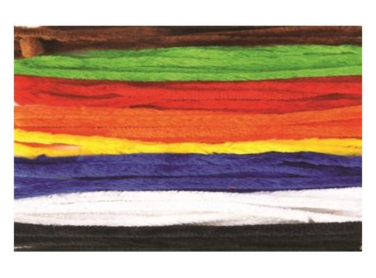 Drátky chlupaté barevné-silné