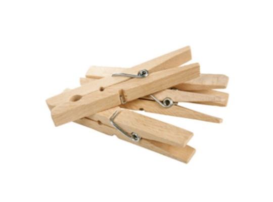 Kolíčky dřevěné velké