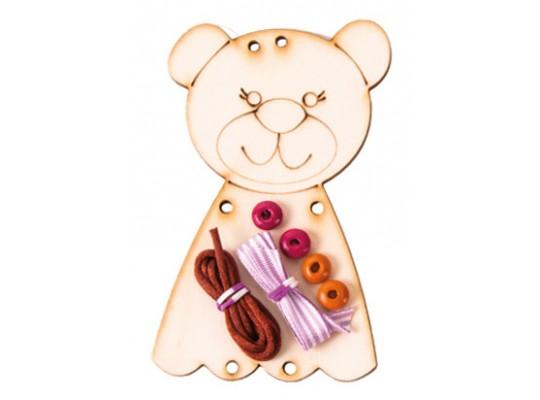 Kreativní sada malá-medvídek