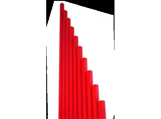 Tyče červené-Montessori