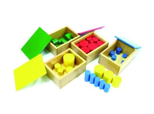 Válečky bez úchytů-Montessori