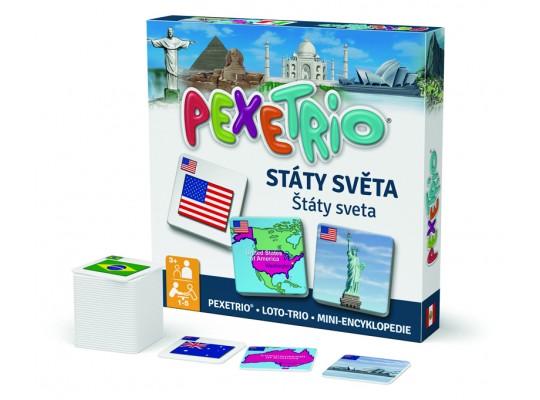 Pexetrio-Státy světa
