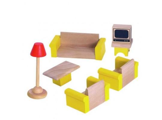 Domeček nábytek-obývací pokoj