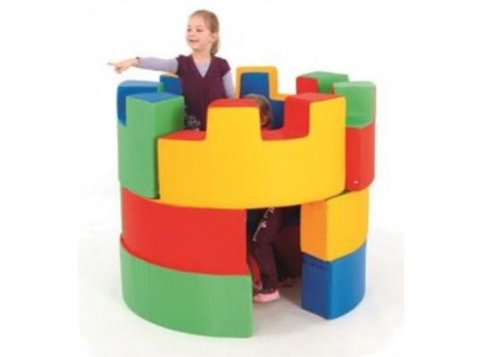 Stavebnice z PUR pěny-hradní věž