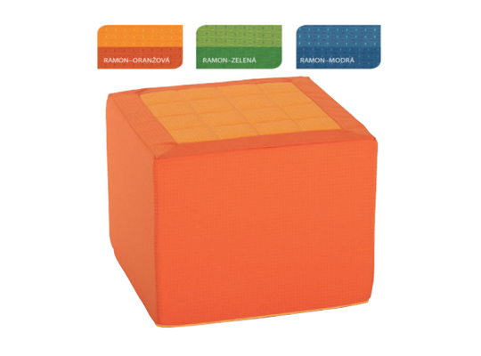 Kostka Vario Ramon-oranžová